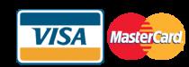 Возможность оплаты банковскими картами платежных систем VISA и Mastercard